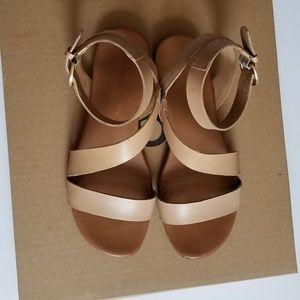Franco Sarto Ankle Strap Sandals